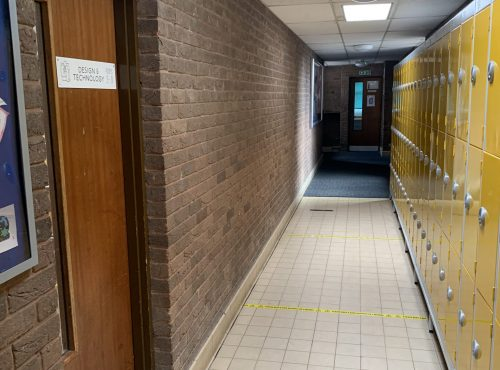 Corridor to Room 31