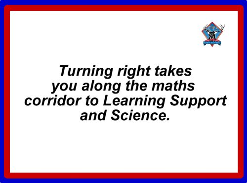 Maths Corridor words