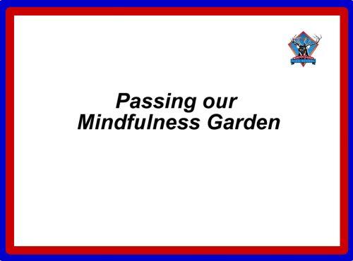 Mindfullness garden