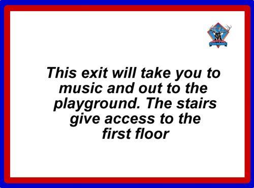 Room 1 exit