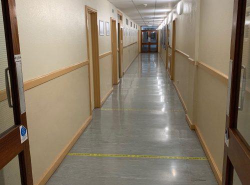 Maths corridor